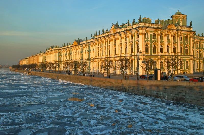 Museo dell'eremo a Pietroburgo fotografia stock