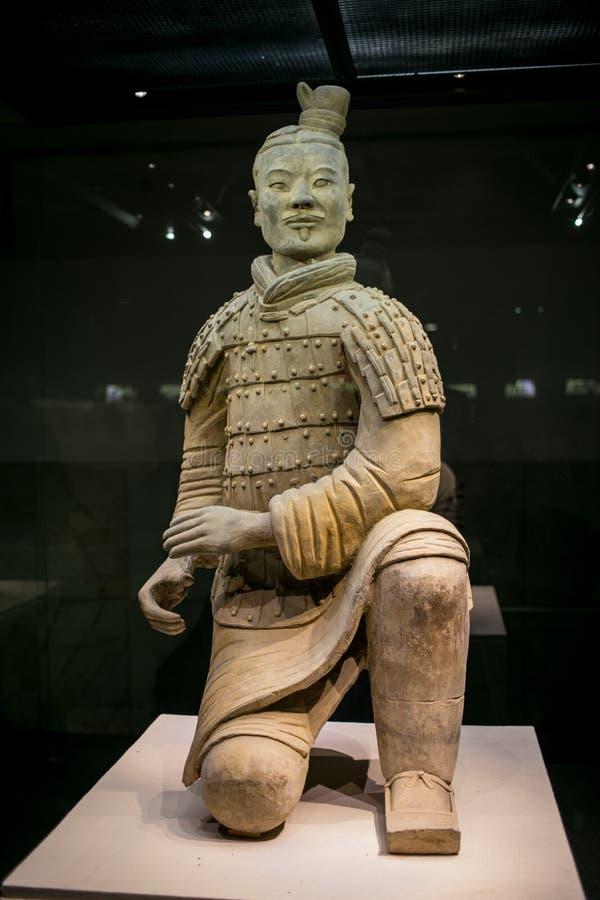 Museo dell'esercito di terracotta, Xi `, Cina fotografia stock