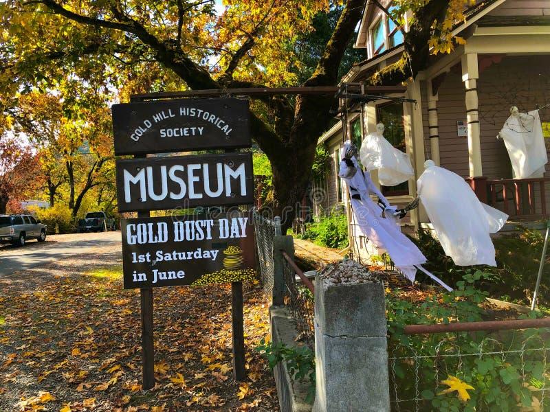 Museo dell'Oregon della collina dell'oro immagini stock libere da diritti