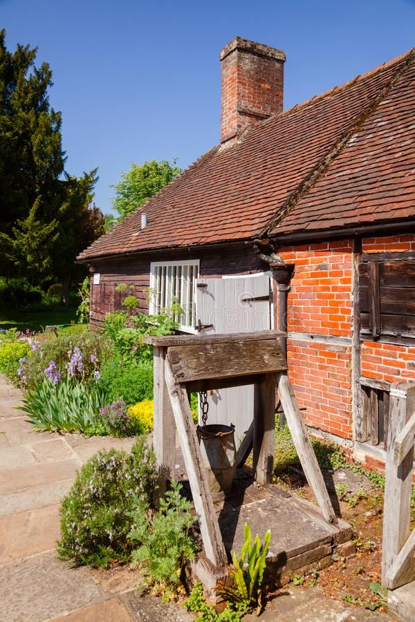 Museo della Camera di Jane Austen in Chawton Hampshire Inghilterra sudorientale fotografie stock