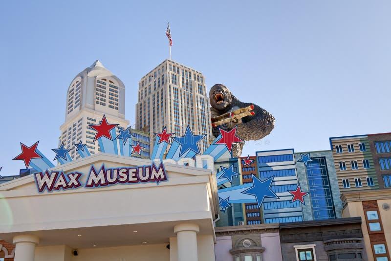 Museo della cera di Hollywood in Pigeon Forge, Tennessee immagini stock libere da diritti