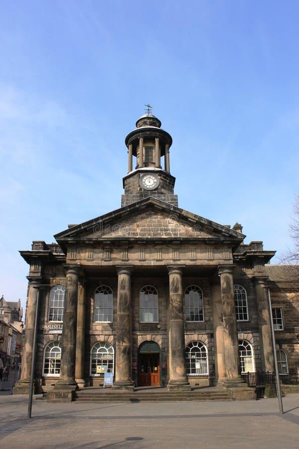 Museo della città di Lancaster in Città Vecchia Corridoio fotografia stock