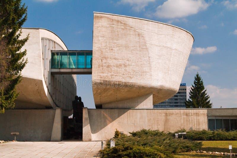 Museo della rivolta nazionale slovacca fotografia stock