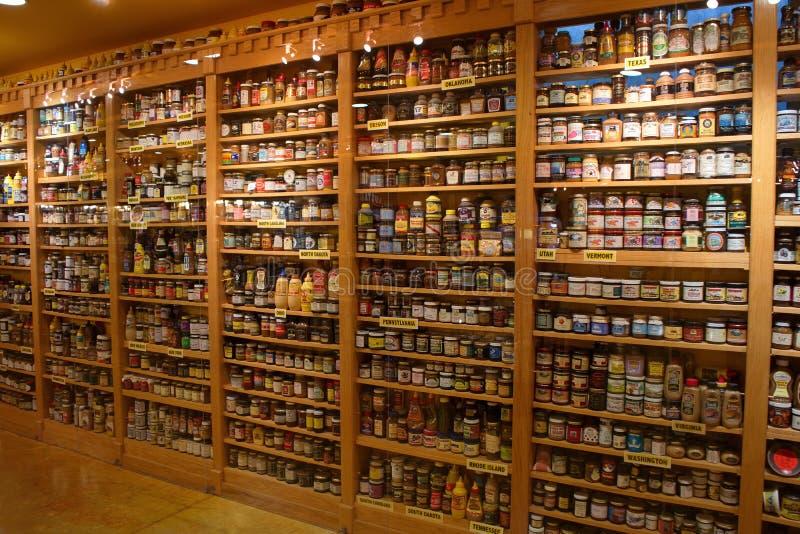 Museo della senape nel Wisconsin immagini stock