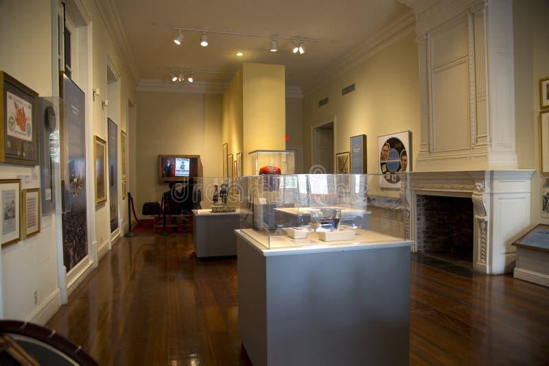 Museo dello stato della Luisiana di visita della gente a New Orleans immagini stock libere da diritti