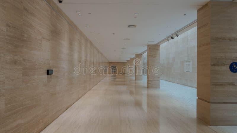 Museo dentro la costruzione fotografia stock