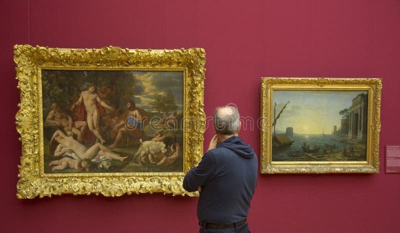 Museo di Alte Pinakothek a Monaco di Baviera fotografia stock
