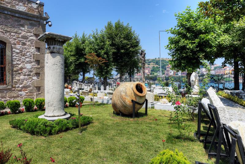 Museo di Amasra in Bartin, Turchia fotografia stock