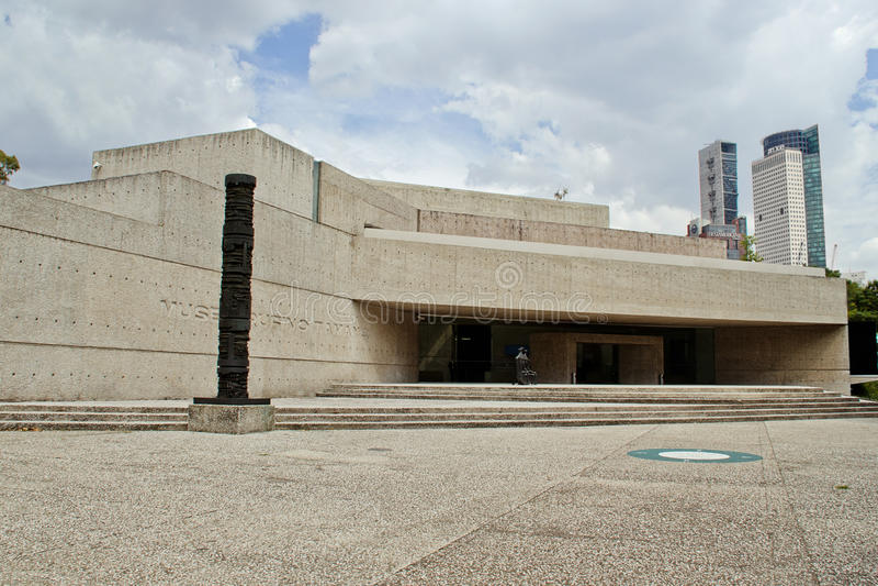 Museo di arte contemporanea a Messico City fotografia stock