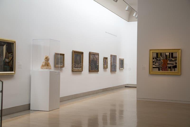 Museo di arte a Dallas fotografia stock libera da diritti