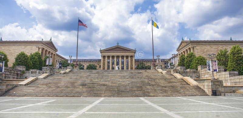 Museo di arte di Filadelfia fotografia stock libera da diritti