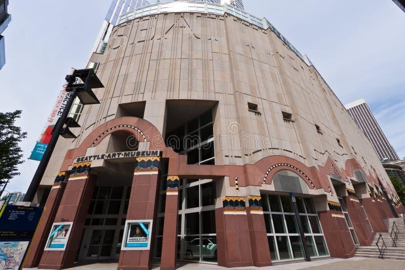 Museo di Arte di Seattle immagine stock libera da diritti