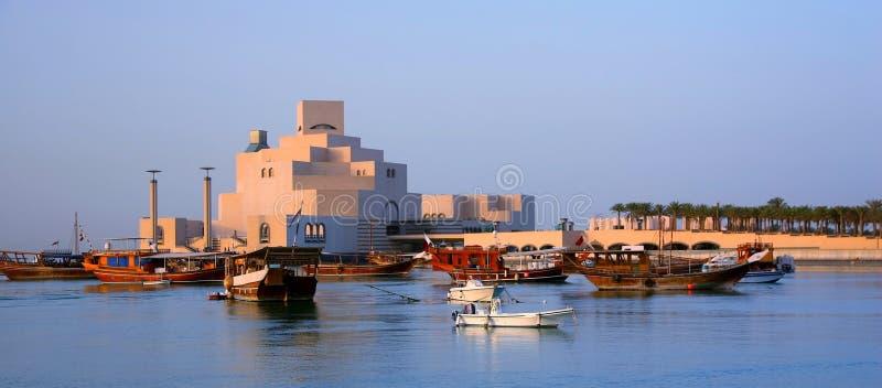 Museo di arte islamica in Doha fotografia stock libera da diritti