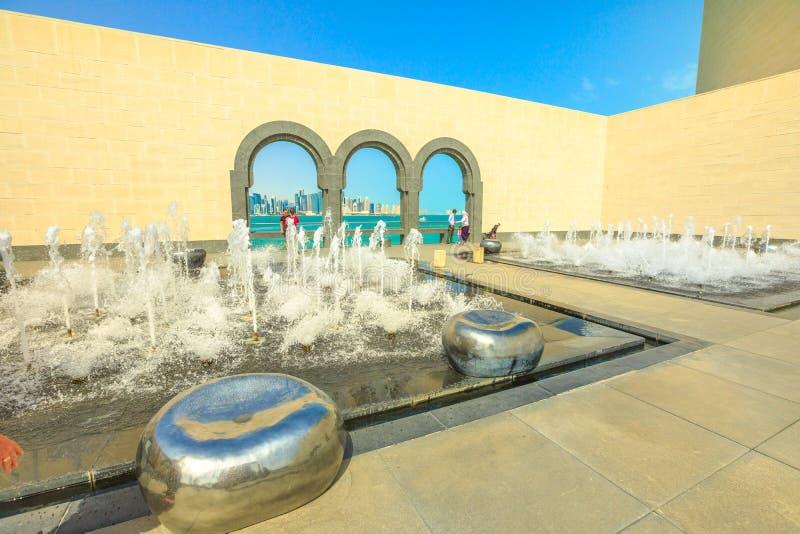 Museo di arte islamica Doha immagini stock