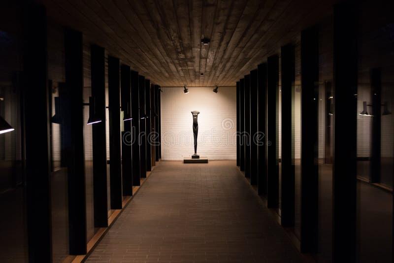 Museo di arte moderna, Humlebæk, Danimarca della Luisiana fotografie stock libere da diritti