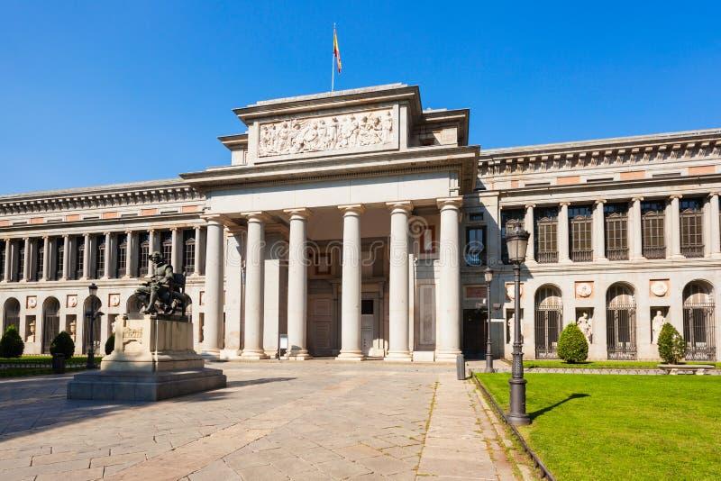Museo di arte nazionale di Prado a Madrid, Spagna fotografie stock libere da diritti