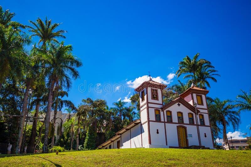 Museo di arte santo Uberaba, Minas Gerais - Brasile immagine stock