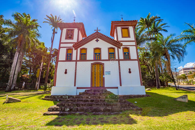 Museo di arte santo Uberaba, Minas Gerais - Brasile immagine stock libera da diritti