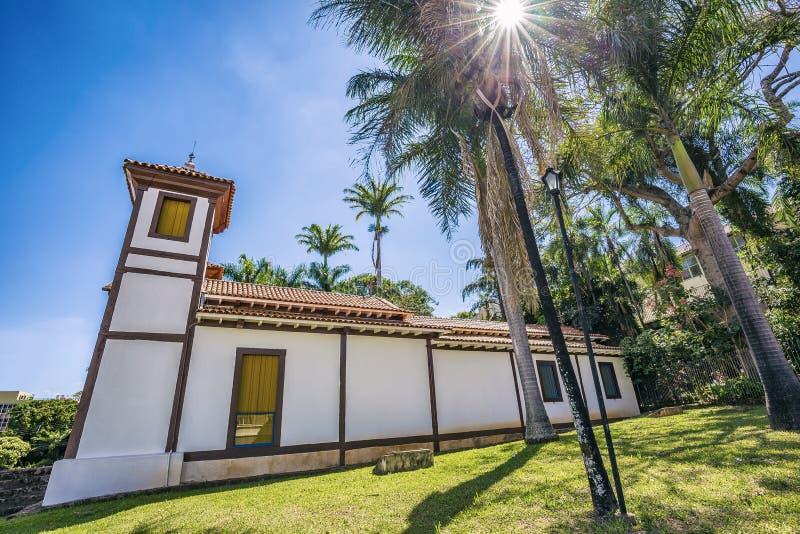 Museo di arte santo Uberaba, Minas Gerais - Brasile immagini stock libere da diritti