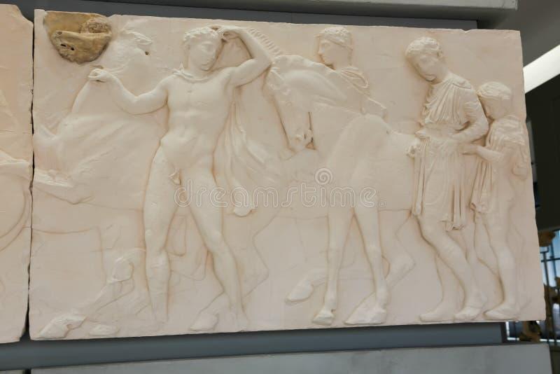 Museo di Atene, Grecia fotografie stock libere da diritti