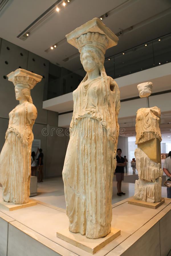 Museo di Atene, Grecia fotografia stock