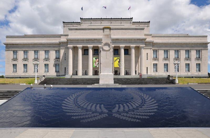 Museo di Auckland fotografie stock libere da diritti
