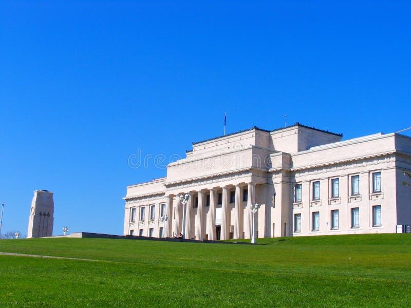 Museo di Auckland fotografia stock