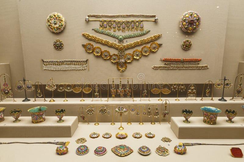 Museo di Benaki a Atene fotografia stock