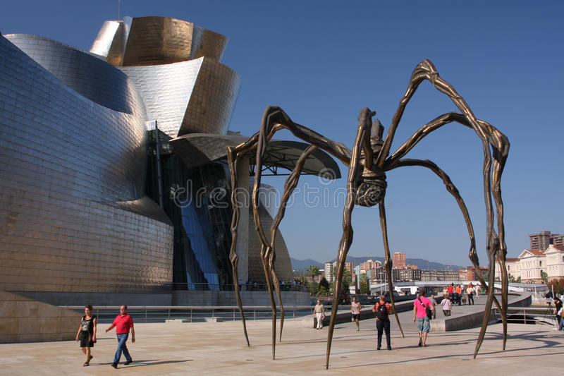 Museo di Bilbao fotografia stock libera da diritti