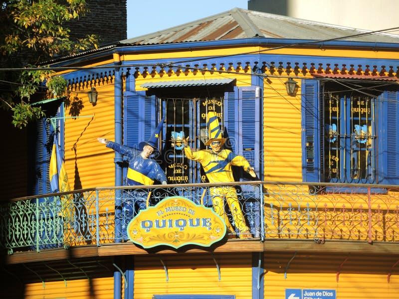 Museo di Boca Juniors fotografie stock libere da diritti