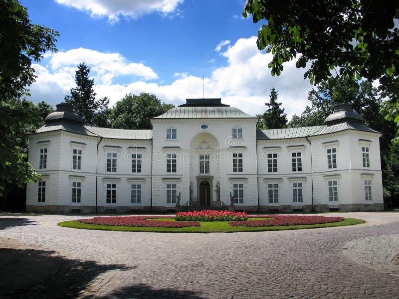 Museo di caccia e di Horsemanship - Lazienki, Varsavia (Polonia) immagini stock libere da diritti