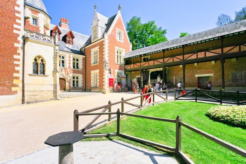 Museo di Clos Luce a Amboise fotografie stock libere da diritti