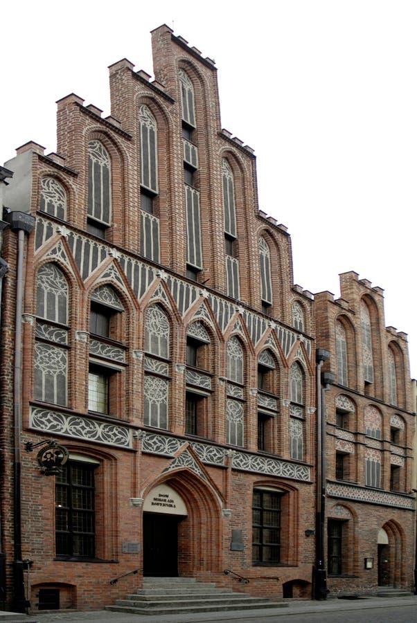 Museo di Copernicus a Torum - La Polonia fotografia stock