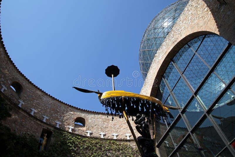 Museo di Dali a Figueres fotografia stock libera da diritti