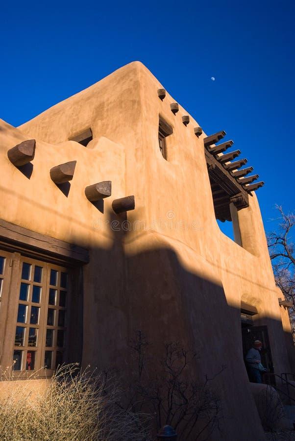 Museo di di arti a Santa Fe fotografia stock libera da diritti