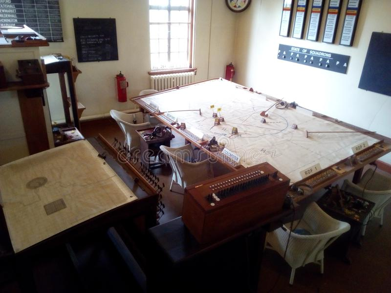 Museo di Duxford fotografia stock libera da diritti