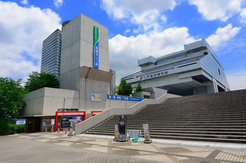 Museo di Edo di Tokyo immagini stock
