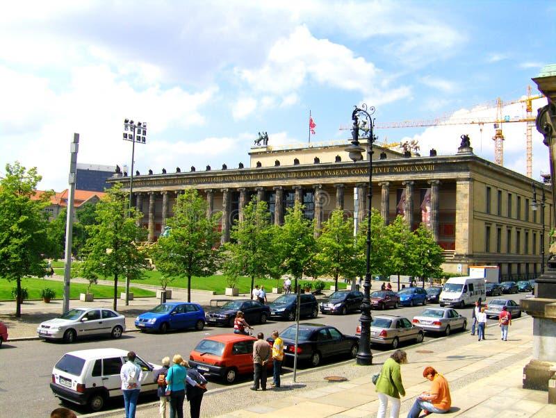 Museo di Egiptian a Berlino fotografia stock libera da diritti