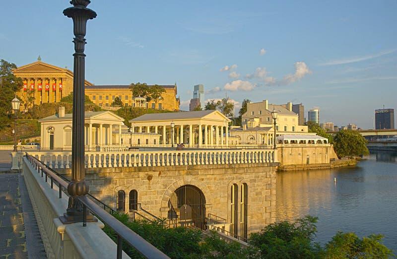 Museo di Filadelfia fotografie stock libere da diritti