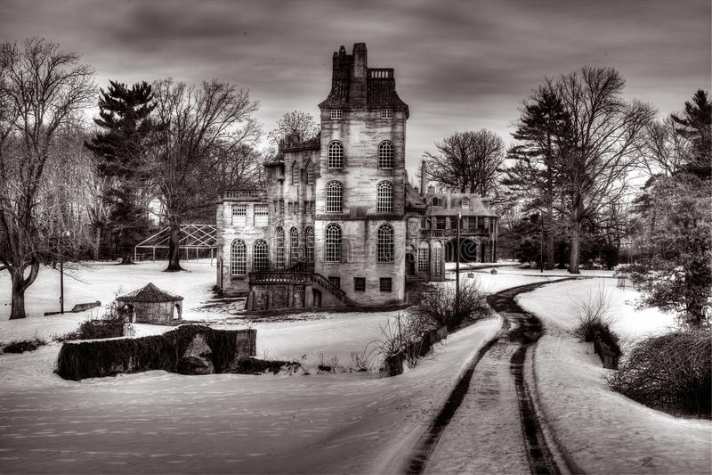 Museo di Fonthill in Doylestown, Pensilvania immagini stock libere da diritti