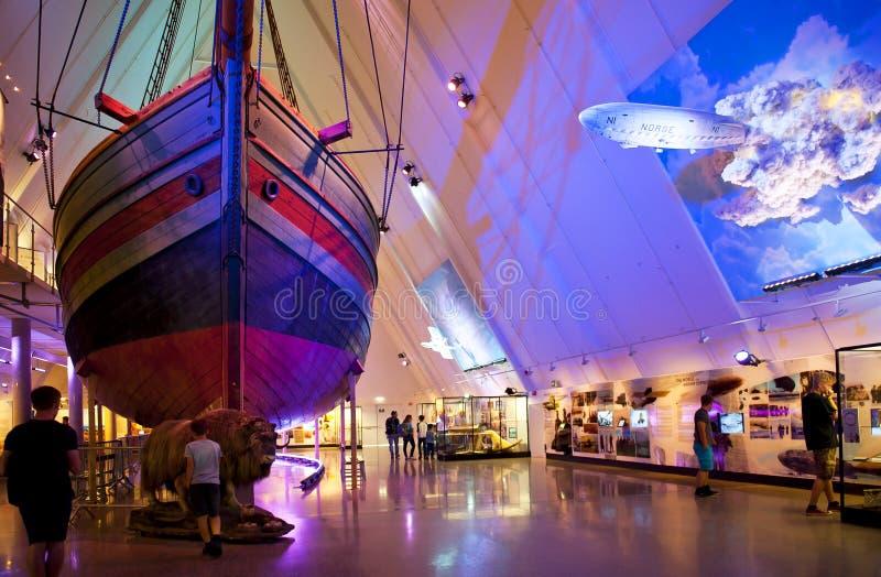 Museo di Fram immagini stock