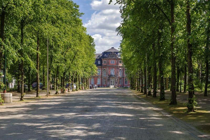 Museo di Goethe, Dusseldorf, Germania fotografie stock libere da diritti
