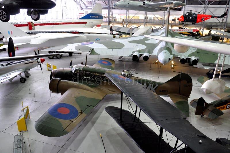 Museo di guerra di Duxford, Inghilterra - 21 marzo 2012 Museo imperiale di guerra di Duxford in U k immagini stock libere da diritti