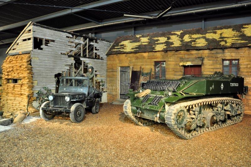 Museo di guerra di Duxford, Inghilterra - 21 marzo 2012 Museo imperiale di guerra di Duxford in U k fotografia stock libera da diritti