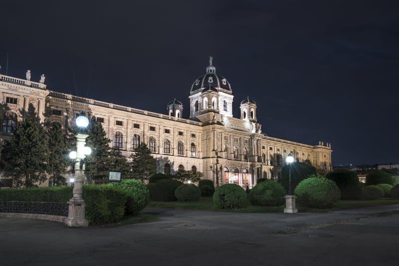 Museo di Kunsthistorisches a Vienna immagini stock