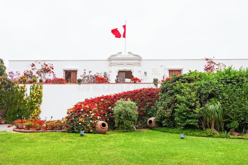 Museo di Larco, Lima fotografia stock