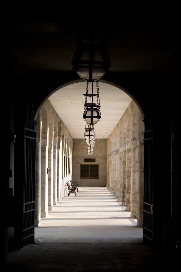 Museo di Lightner alla st Augustine, corridoio fotografie stock