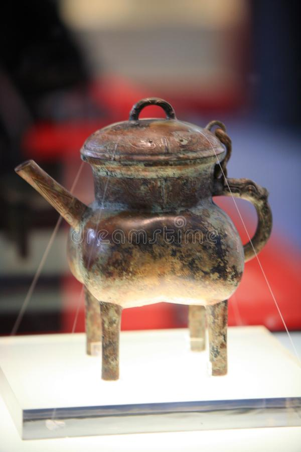 Museo di Luoyang fotografie stock