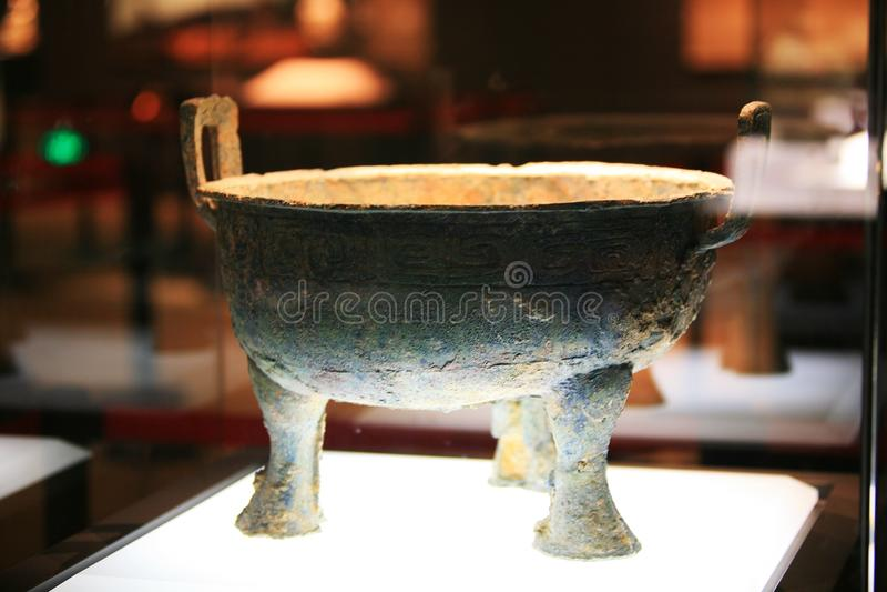 Museo di Luoyang fotografie stock libere da diritti