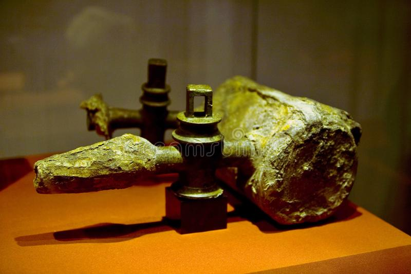 Museo di Luoyang fotografia stock libera da diritti